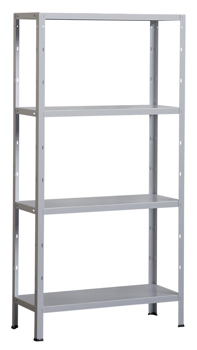 Avasco rek Clicker 85, ft 180 x 90 x 40 cm, 4 legborden, gegalvaniseerd