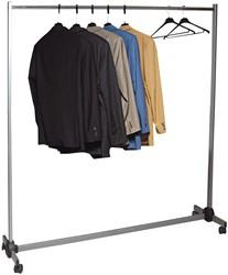 Unilux kledingrek Meeting Budget, ft 150 x 50 x 157 cm, op wieltjes