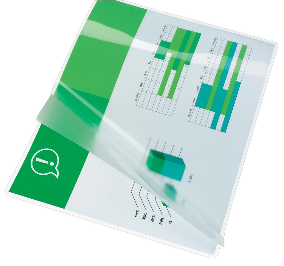 GBC Document lamineerhoes ft A4, 200 micron (2 x 100 micron), pak van 100 stuks