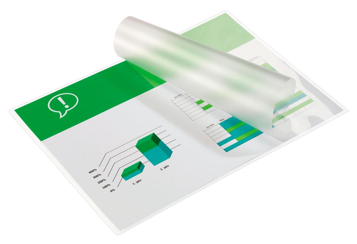 GBC Document lamineerhoes ft A5, 150 micron (2 x 75 micron), pak van 100 stuks