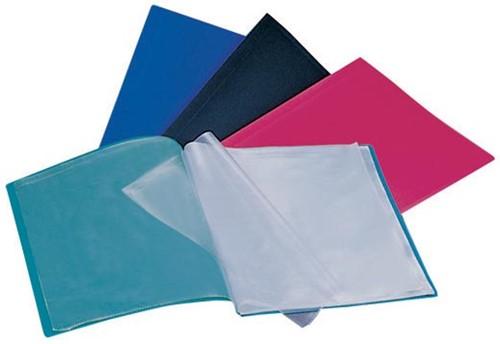 Beautone showalbum, A4, 30 tassen, in geassorteerde kleuren