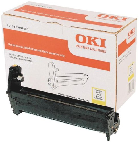 Oki Drum Kit geel - 20000 pagina's - 43870021