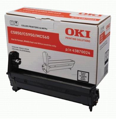 Oki Drum Kit zwart - 20000 pagina's - 43870024