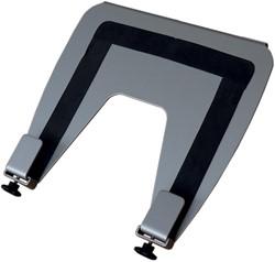 R-Go laptopstandaard platform, zilver