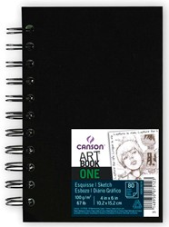 Canson schetblok 'Art book One' 80 vellen 10,2 x 15,2 cm