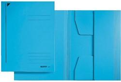 Leitz dossiermap met 3 kleppen, A3, blauw, pak van 25 stuks
