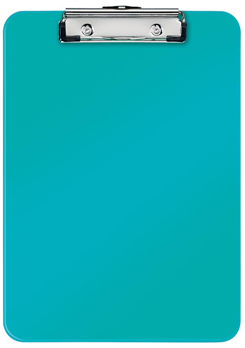 Leitz WOW klemplaat, ft A4, ijsblauw