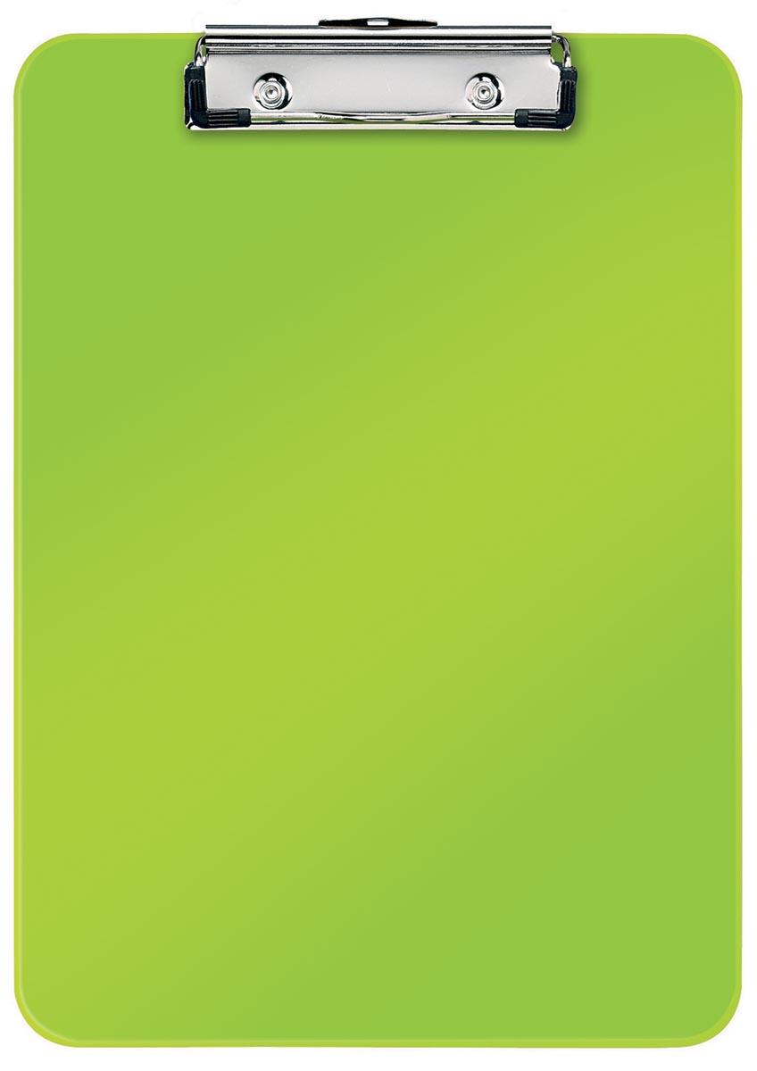Leitz WOW klemplaat, ft A4, groen