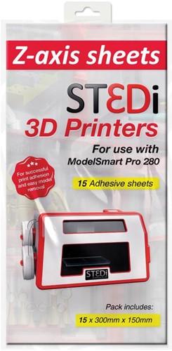 ST3Di Pro 280 Z-Axis Sheets lijmvellen 15 stuks