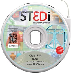 ST3Di 3D cartridge PVA 500G voor St3di printer, naturel
