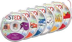 ST3Di PLA Starter Pack (pack 6 kleuren)