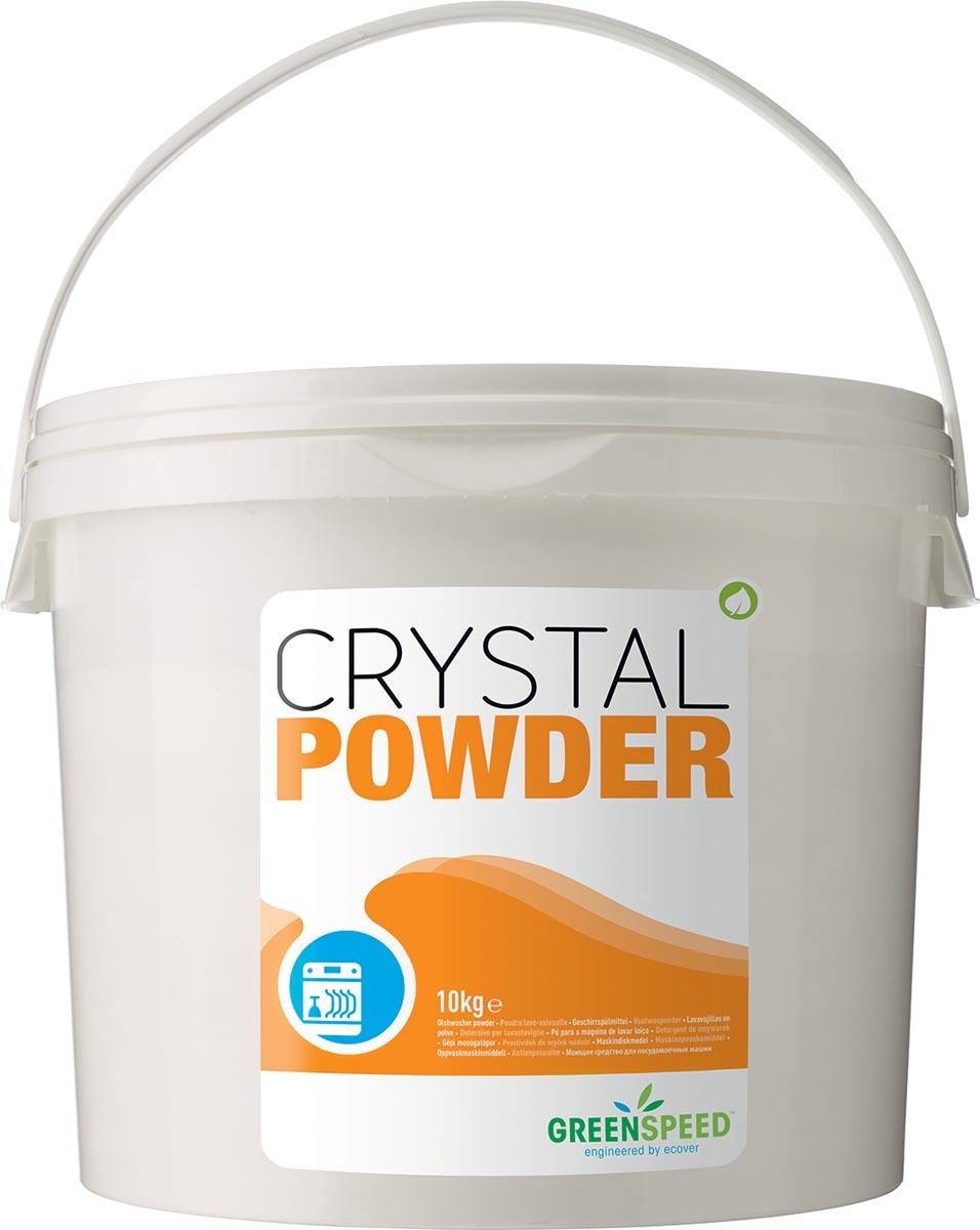 Greenspeed vaatwaspoeder Crystal Powder, emmer van 10 kg