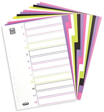 Elba Tabbladen MyColour 12 tabs, geassorteerde kleuren
