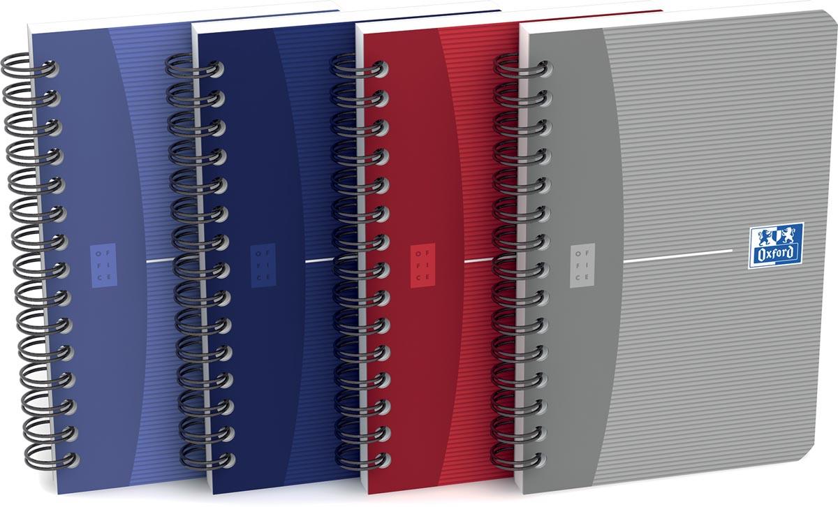 Oxford Essentials spiraalblok, ft 9 x 14 cm, 180 bladzijden, gelijnd
