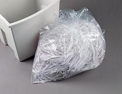 Rexel opvangzakken voor papiervernietigers 115 l, pak van 100 zakken