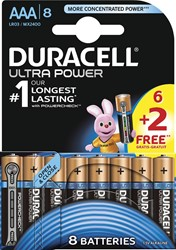 Duracell batterijen Ultra Power AAA, LR03