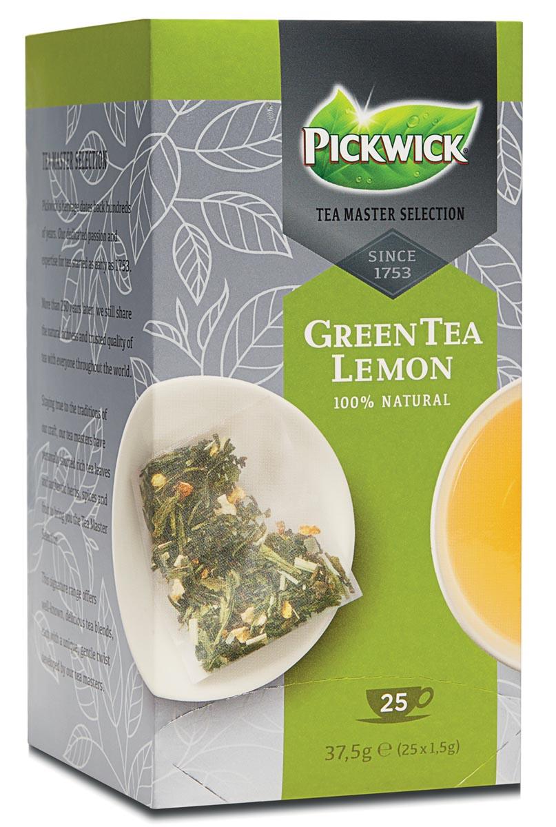Thee Pickwick Master Selection green lemon 25 zakjes 1.5gr