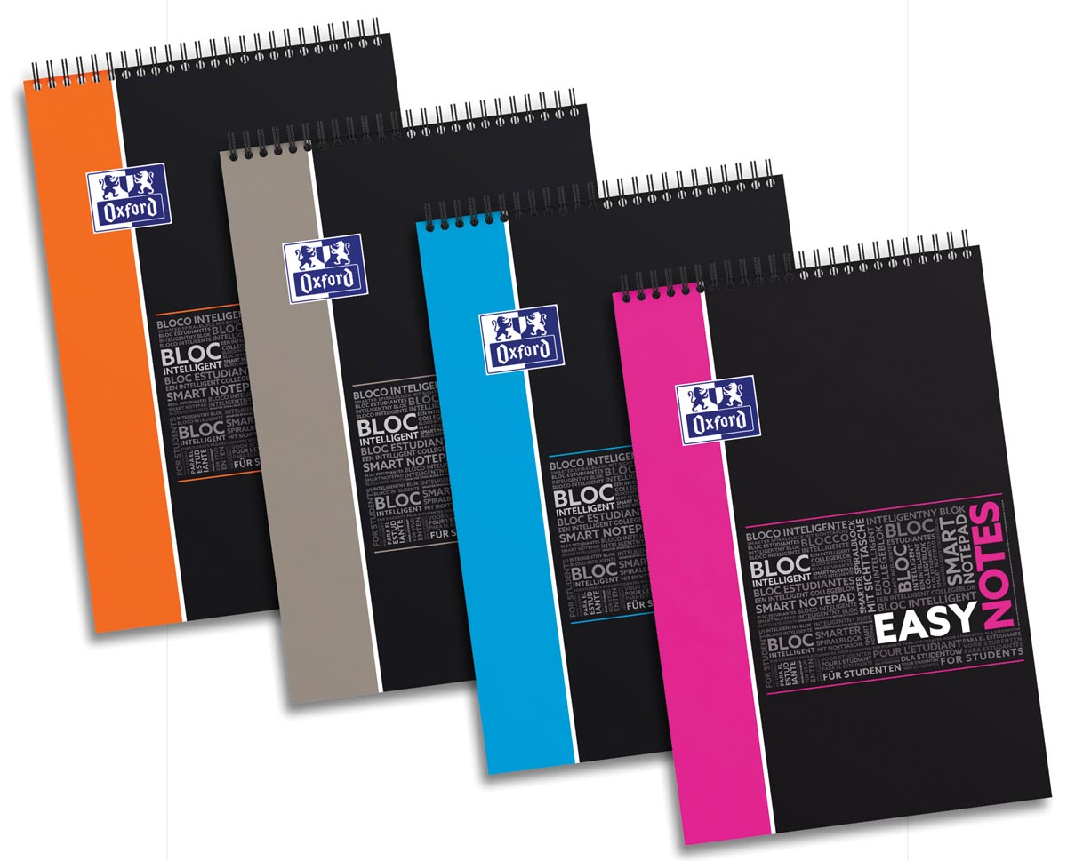 Oxford STUDENT SOS Notes easynotes, ft A4+, 160 bladzijden, geruit 5 mm
