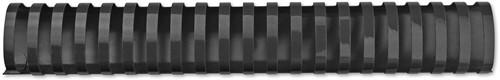 GBC CombBind reliures, boîte de 50 pièces, 51 mm, noir