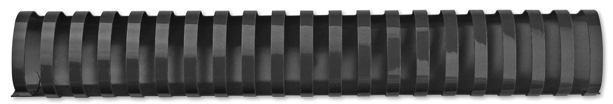 GBC CombBind bindruggen, doos van 50 stuks, 51 mm, zwart