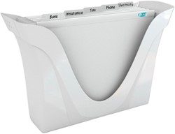 ELBA hangmappenkoffer Pure White                         inclusief 5 hangmappen