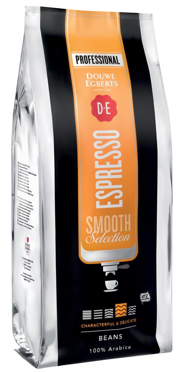 Douwe Egberts koffiebonen, espresso Smooth, pak van 1 kg