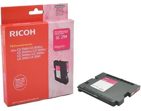 Ricoh gel cartridge GC21M magenta, 1000 pagina's - OEM: 405534
