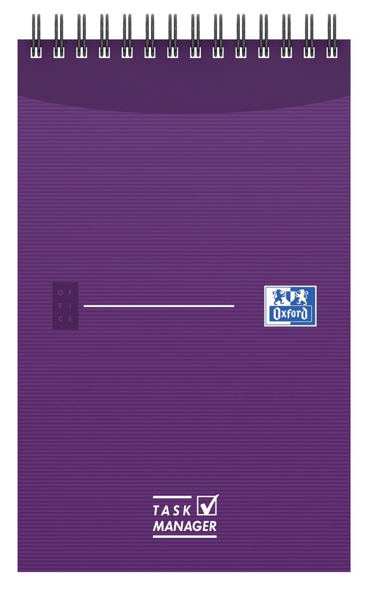 Oxford OFFICE Essentials task manager, ft 12,5 x 20 cm, 140 bladzijden