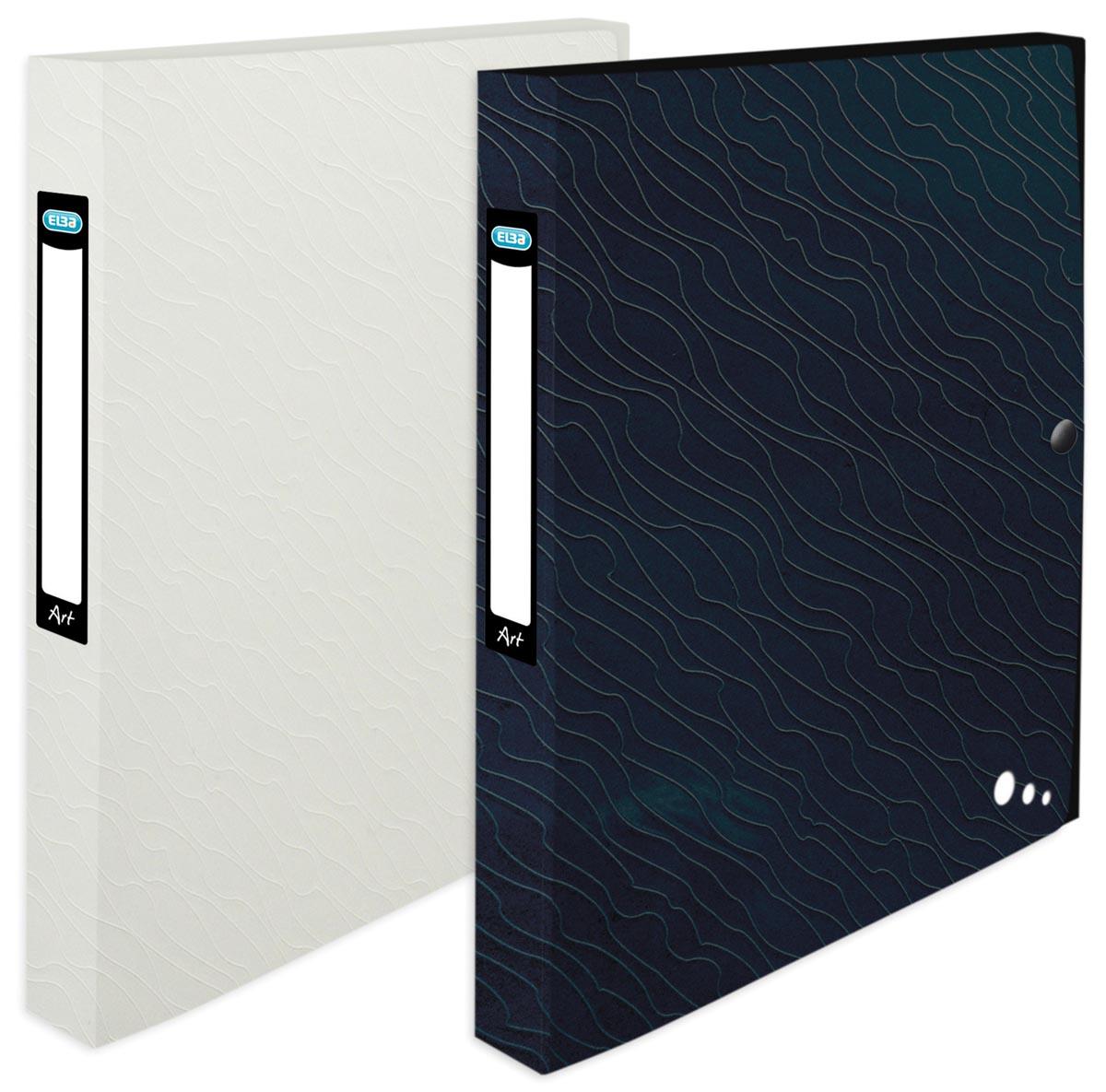 Elba Art Studio, elastobox, ft 24 x 32 cm, rug van 2,5 cm , geassorteerde kleuren