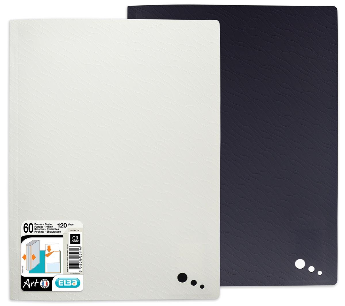 Art Studio, showalbum, ft A4, 60 tassen, geassorteerde kleuren