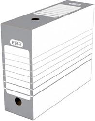 Elba archiefdoos rug van 10 cm, grijs
