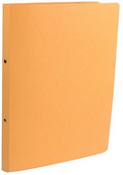Class'ex ringmap, ft A4, 2 ringen van 16 mm, karton, geel