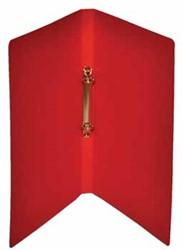 Class'ex ringmap, ft A4, 2 ringen van 16 mm, karton, rood