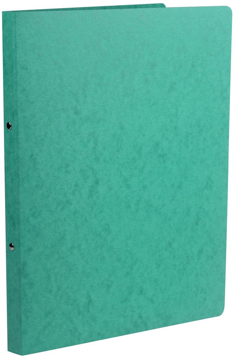 Class'ex ringmap, ft A4, 2 ringen van 16 mm, karton, groen