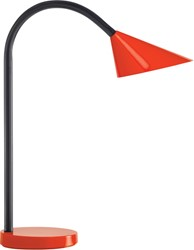 Unilux bureaulamp Sol, LED-lamp, rood