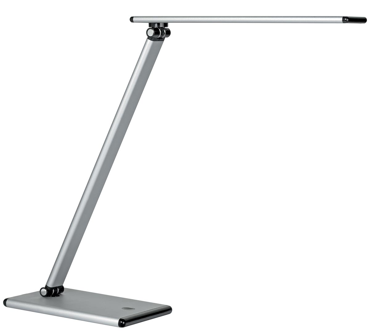 Unilux bureaulamp Terra, LED-lamp, metallic grijs