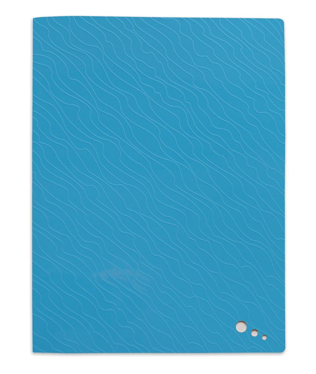 Elba Art Pop showalbum, voor ft A4, 20 tassen, uit PP, blauw