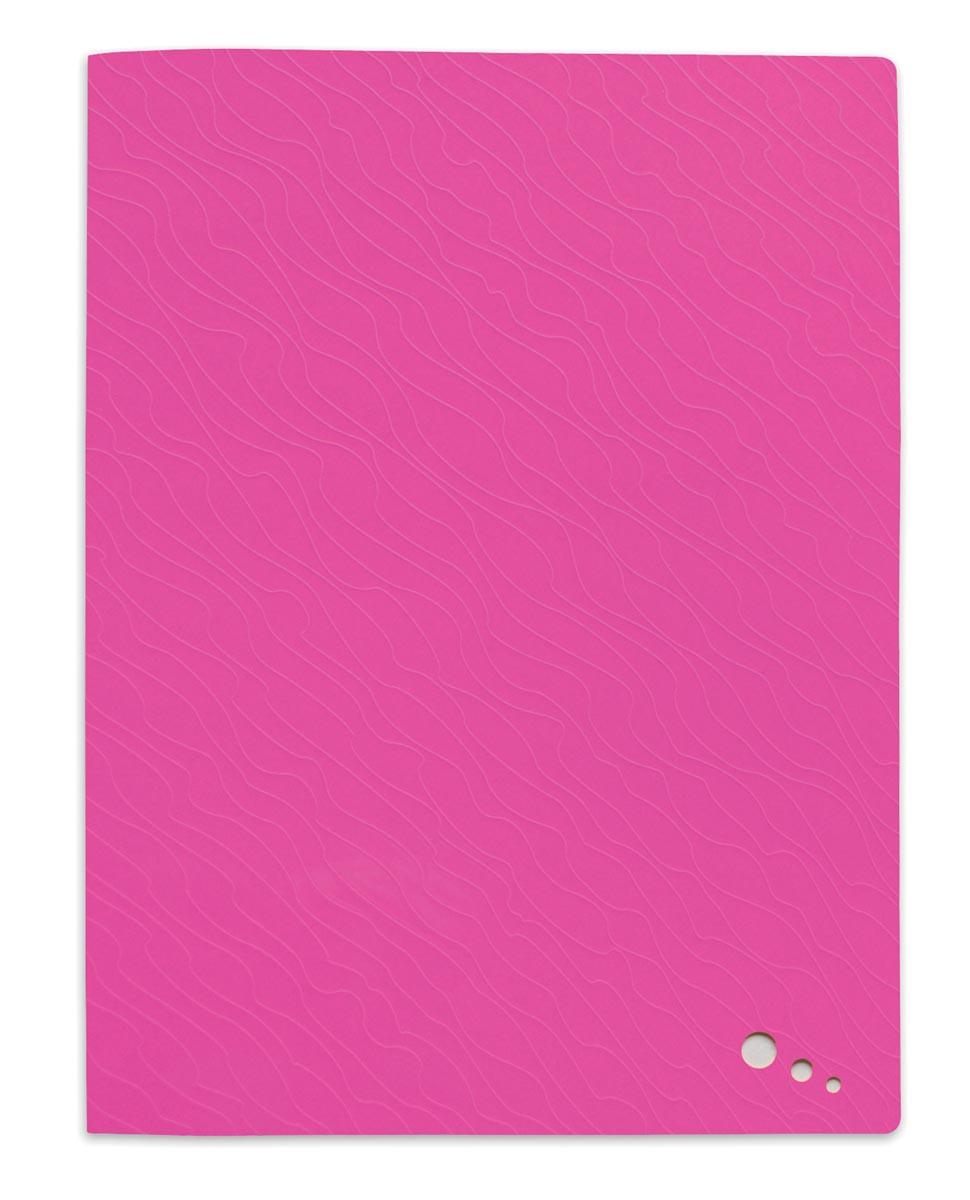 Elba Art Pop showalbum, voor ft A4, 20 tassen, uit PP, roze