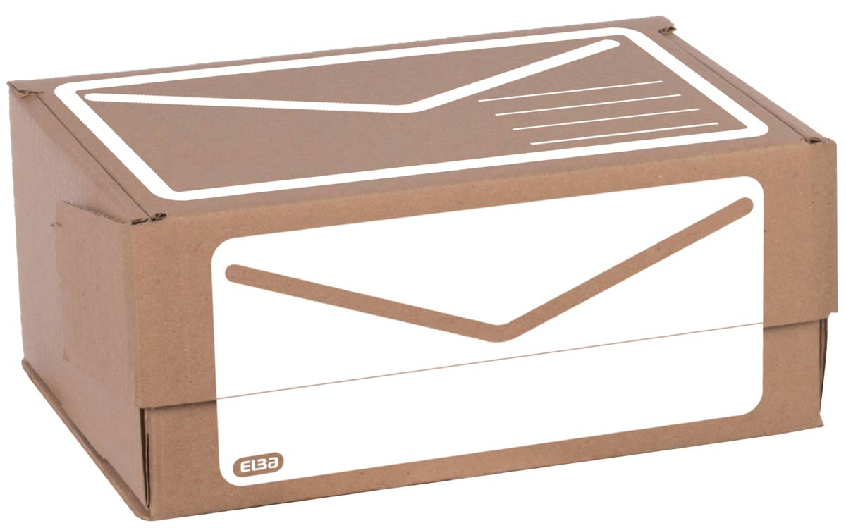 Elba verzenddoos A5+, ft 23 x 16,5 x 10 cm, bruin