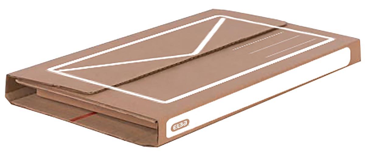 Elba verzenddoos A4+, ft 33 x 25 x 1-5 cm, bruin