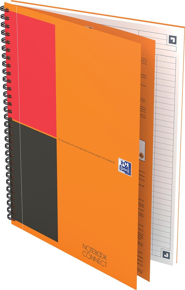 Oxford INTERNATIONAL notebook, 160 bladzijden, ft B5, gelijnd