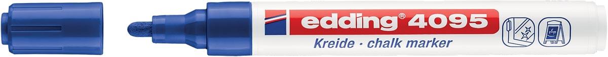 Edding Krijtmarker e-4095 blauw