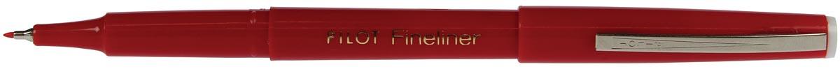 Pilot Fineliner SW-PPF rood