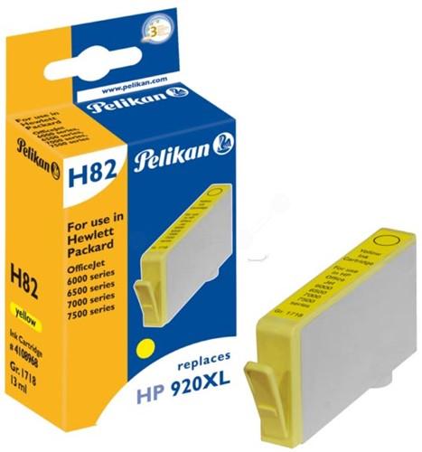 Pelikan inktcartridge geel, 700 pagina's voor HP 920XL - OEM: CD974AE