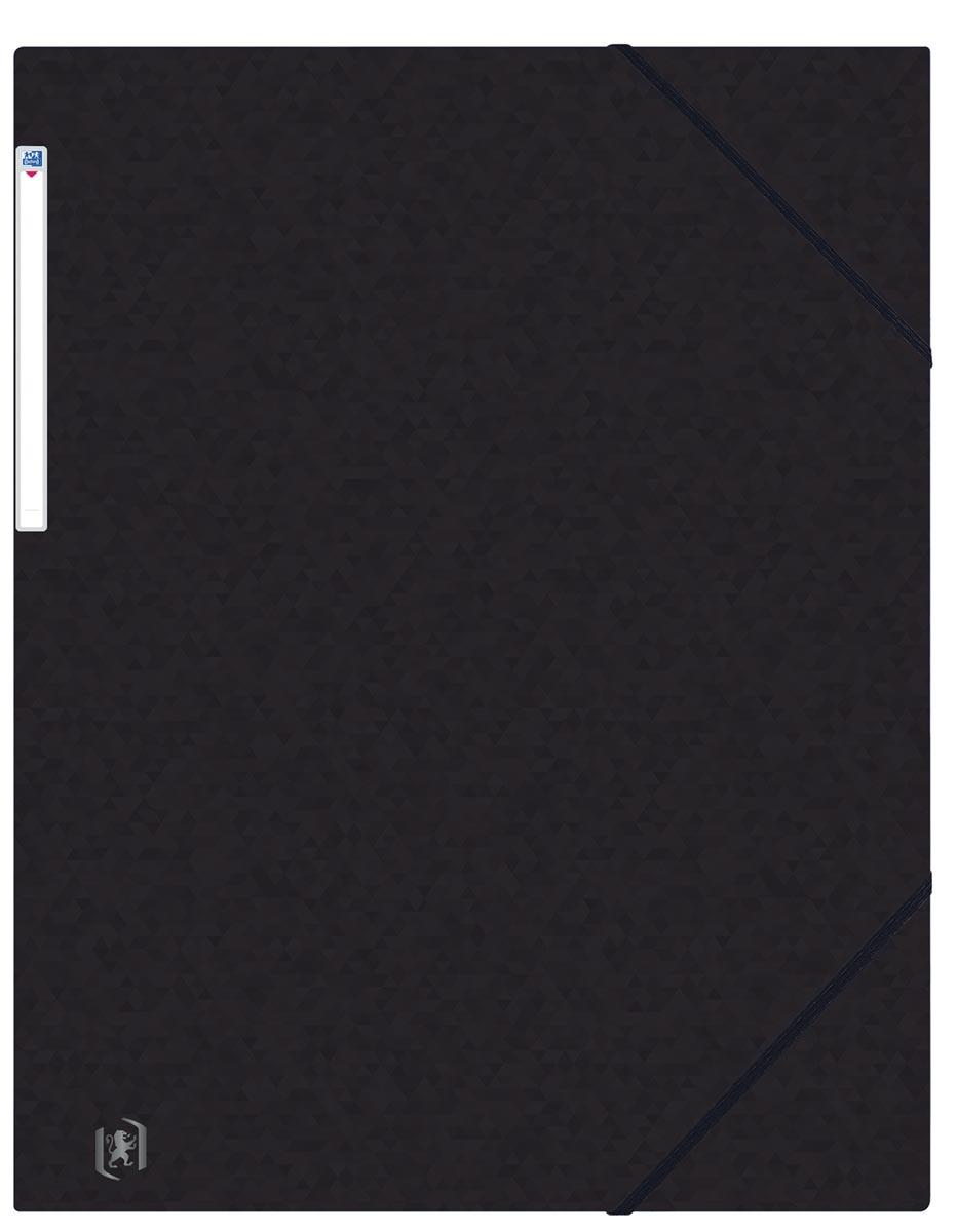 Oxford Top File+ elastomap, voor ft A3, zwart