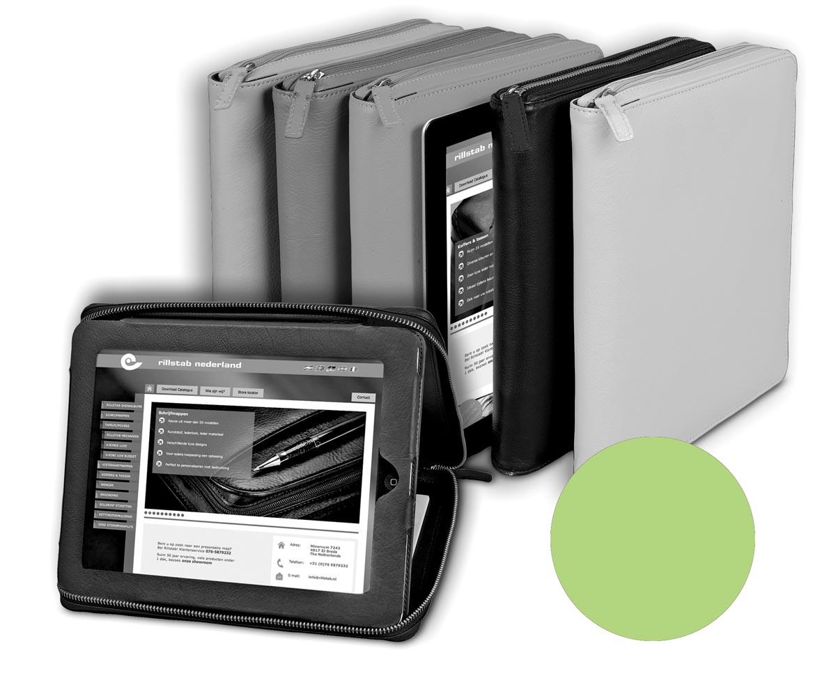 Alassio by J�scha case voor 9,7 inch tablets, lichtgroen