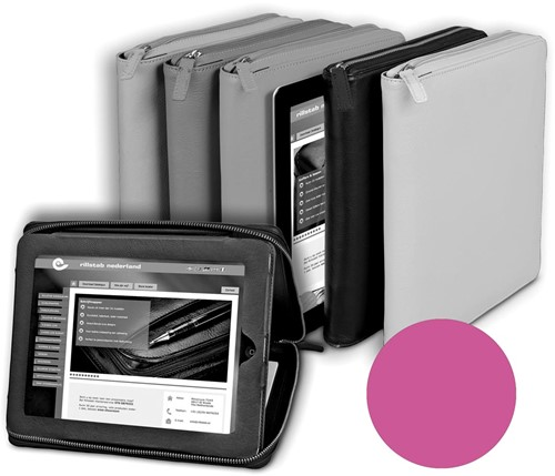 Alassio by Jüscha case voor 9,7 inch tablets, roze