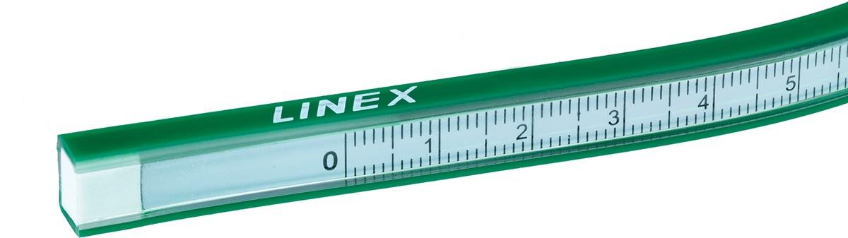 Linex liniaal flexibel van 30 cm