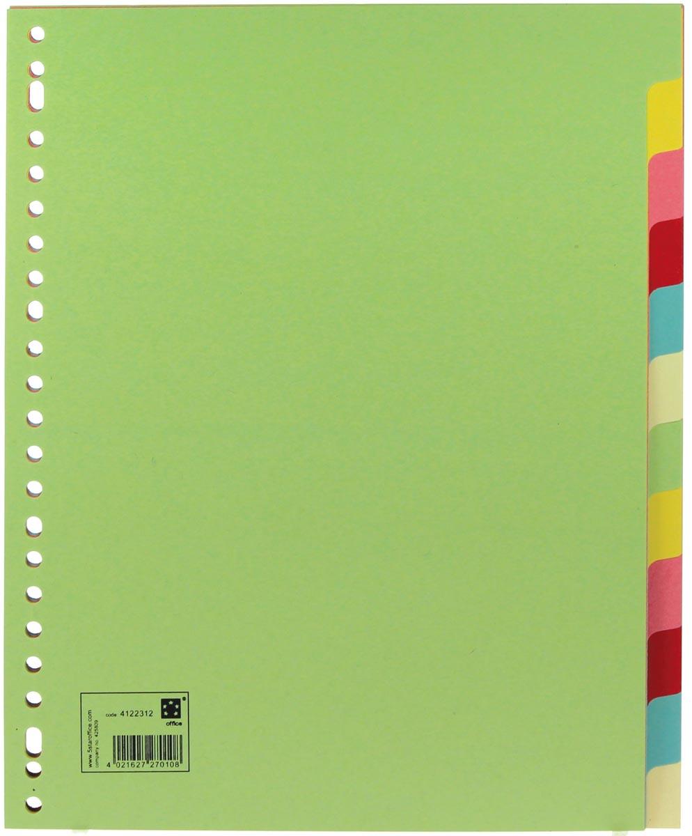 5 Star tabbladen 12 tabs, ft A4 maxi