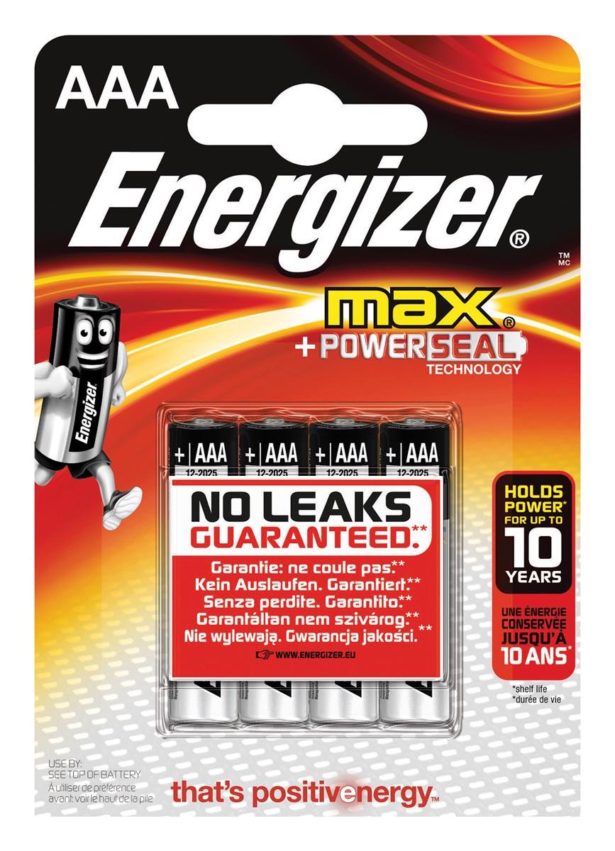 Energizer Ultra+ AAA batterij (potlood) Alkali-mangaan 1.5 V 4 stuks